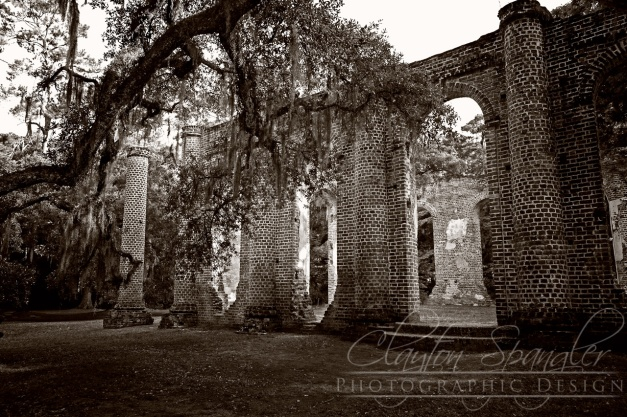 Sheldon Church Ruins, Located in S.C.
